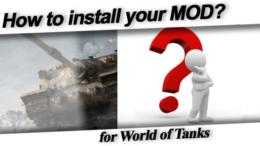 installation mod world of tanks