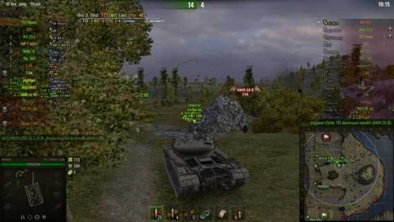 alains world of tanks mod
