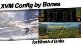 XVM Config by Bones for World of Tanks