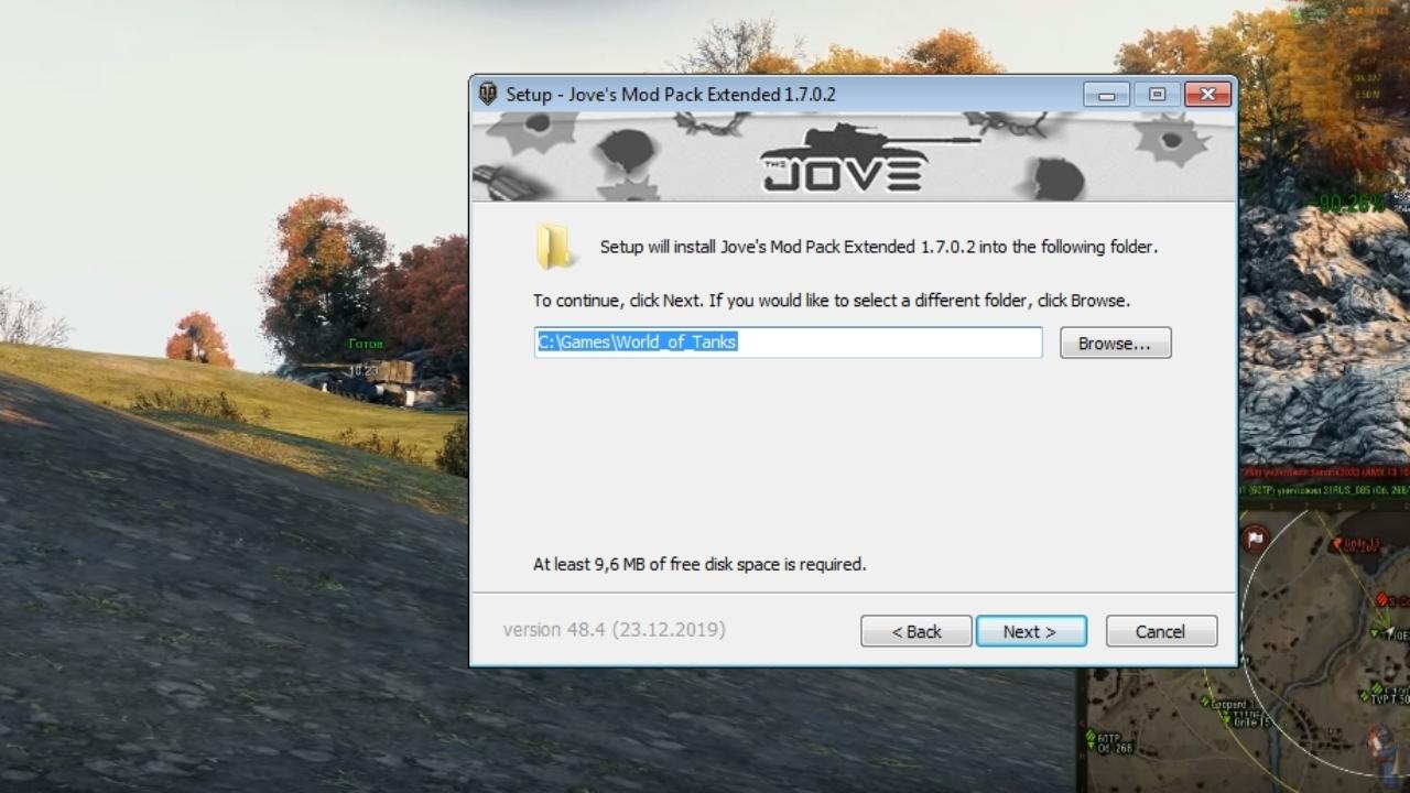 Installation Jove`s Modpack - step 2.