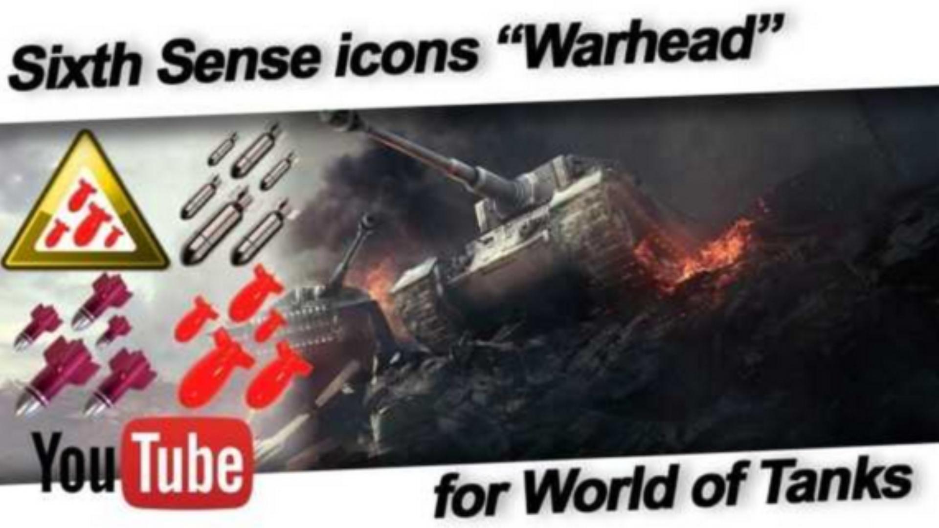 Sixth Sense icons Warhead