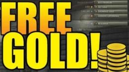 free gold in world of tanks