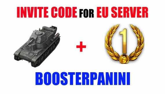 invite code BOOSTERPANINI