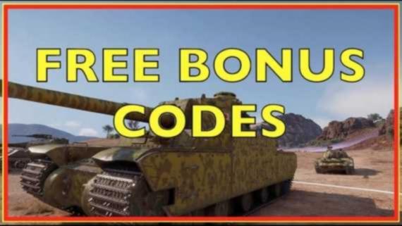 WoT Bonus codes
