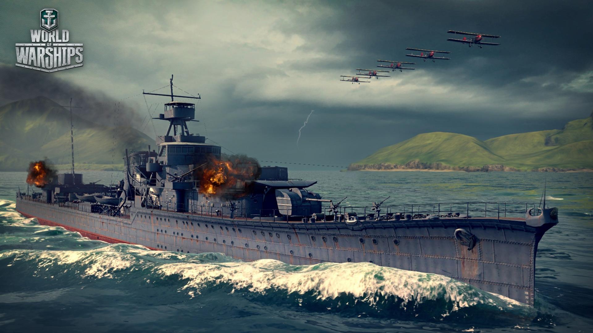 Japanese premium Tier IV cruiser Yūbari