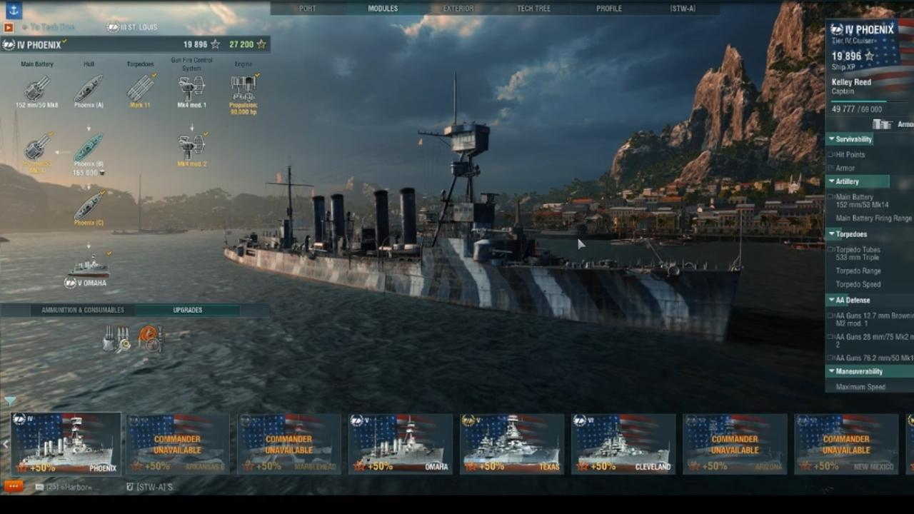 The USS Phoenix In World Of Warships