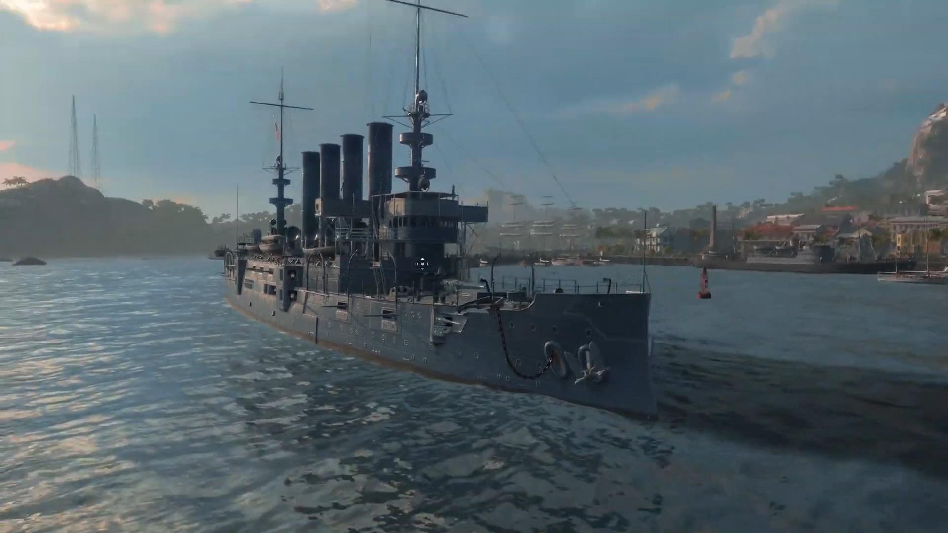 USS Charleston - Premium Ships of World of Warships